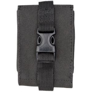 Nylon MOLLE Phone Pouch - Black - Black