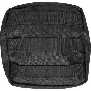 Nylon MOLLE Large Pouch - Black - Black