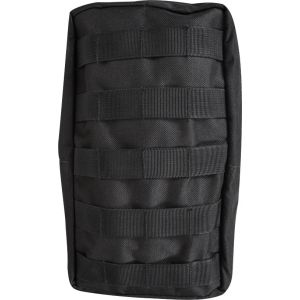 Nylon MOLLE XL Pouch - Black
