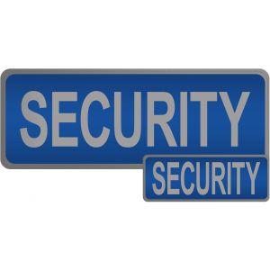 Security Hook & Loop Reflective Blue Badge - 2 Pack