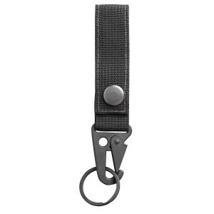 Key Hanger with H&K Clip - Black & Red