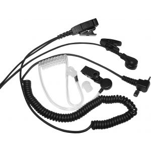 Sepura Airwave Covert Screw In Earpiece with PTT