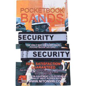 Security Pocket Notebook Bands