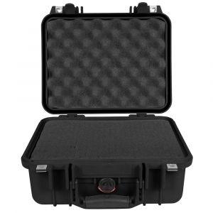 Peli 1400 Medium Case With Foam - Black