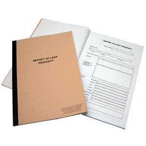 Lost Property Book