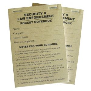 Security & Law Enforcement Compact Pocket Note Book