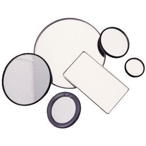 140mm Diameter Convex Mirror w/ Protective Rubber Ring