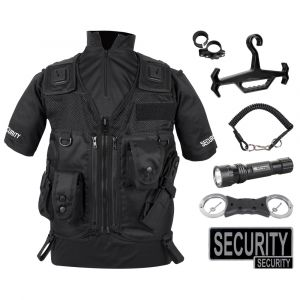 Deluxe Security Vest Kit - Black