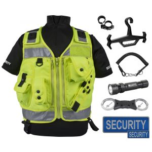 Deluxe Security Vest Kit - Hi-Vis