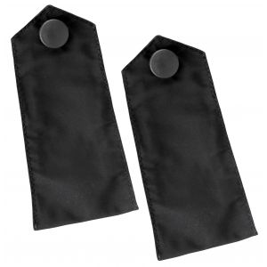 Black Outerwear Epaulettes