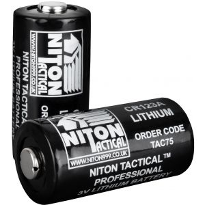 Niton Tactical Lithium CR123 Batteries