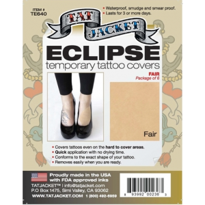 Eclipse Tattoo Cover-Up Patches - 6 Pack