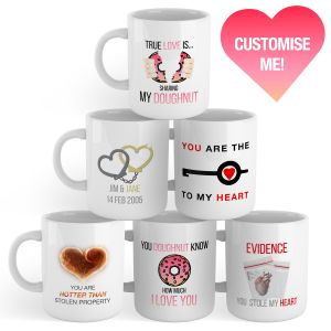 Limited Edition Show the Love Customised Mug