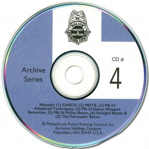 Archive Baton Techniques CD ROM - Series 4