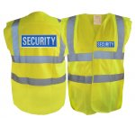 Hi-Vis Security Vest - Sleeveless