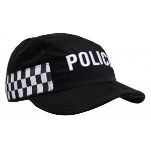Foldable Police Cap