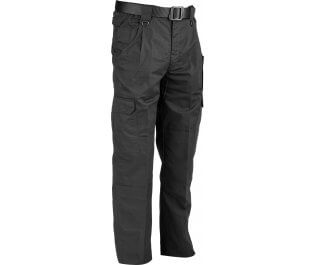 "Lightweight Ripstop Trousers - Black 34"" Leg"