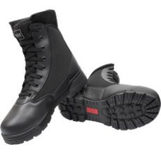 """Magnum Classic 8"""" Boots, black leather tactical boots, tactical footwear"""