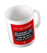 Niton999 Customised Emergency Mug