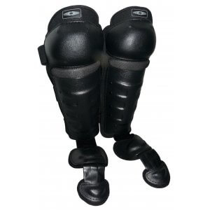Imperial Hard Shell Shin Guards with Non-Slip Knee Caps