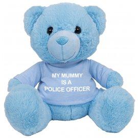 Customisable Blue Teddy Bear with T-Shirt