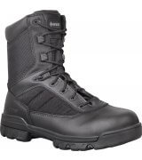 "Bates Tactical Sport 8"" Boots with Side Zip, black leather tactical boots, tactical footwear"