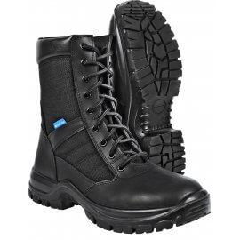 "Blueline Patrol 8"" Waterproof Leather-Nylon"